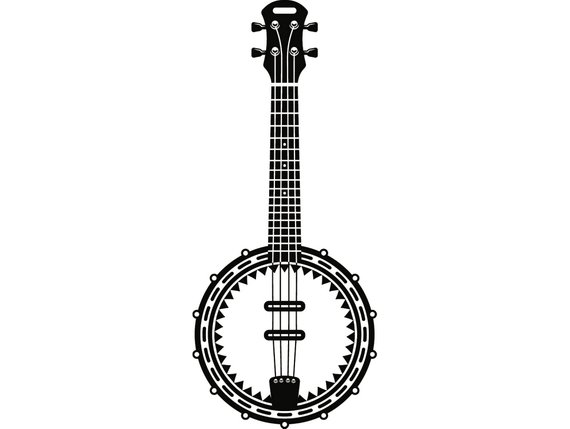 banjo clipart country music