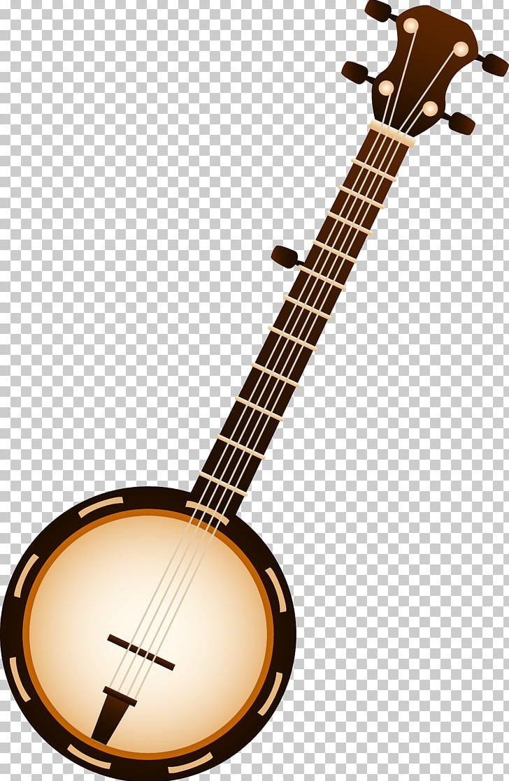 Musical instruments string bluegrass. Banjo clipart country music