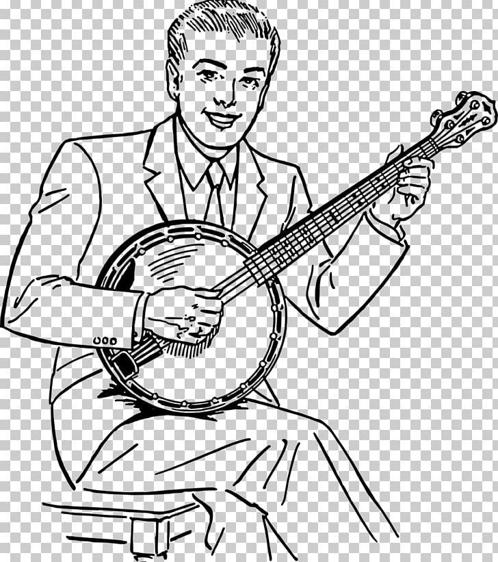 Steve martin drawing png. Banjo clipart drawn