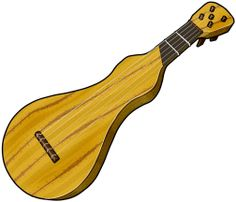 Gopichant literally one string. Banjo clipart ektara