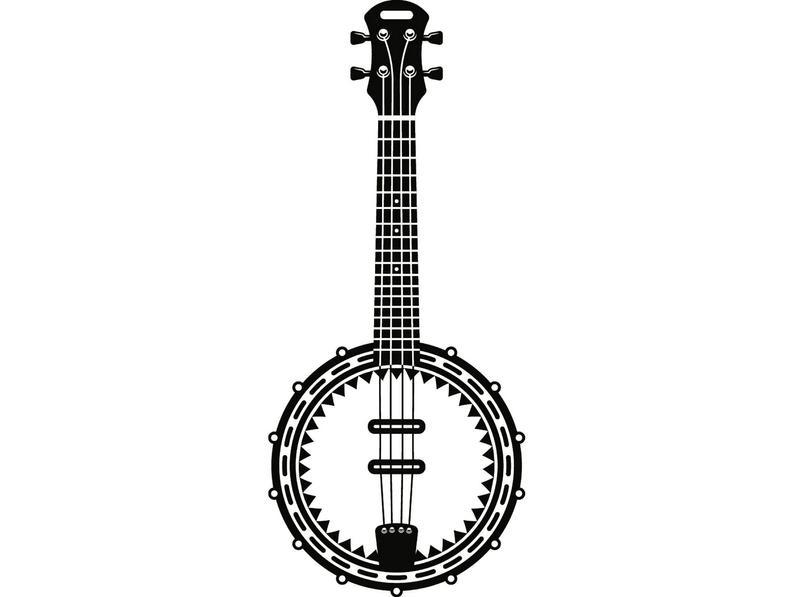 banjo clipart folk music
