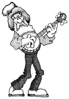 Banjo clipart hillbilly music. T shirt da vinci