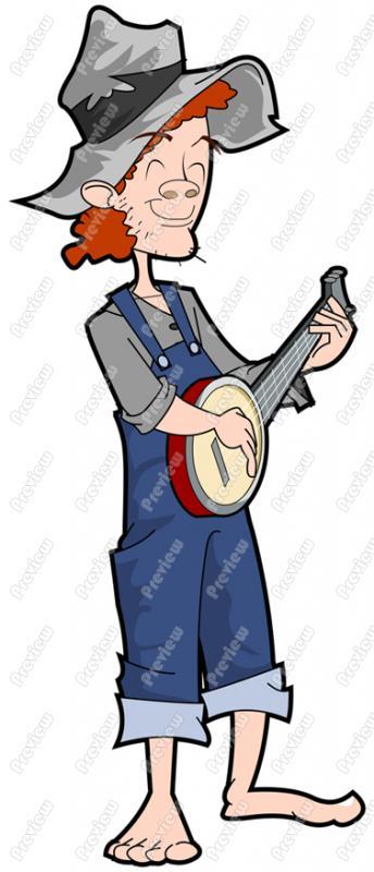 Banjo clipart hillbilly music. Cilpart strikingly inpiration playing