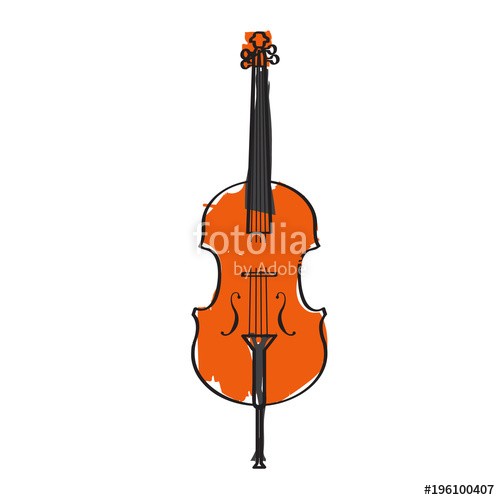 Isolated icon musical instrument. Banjo clipart laud