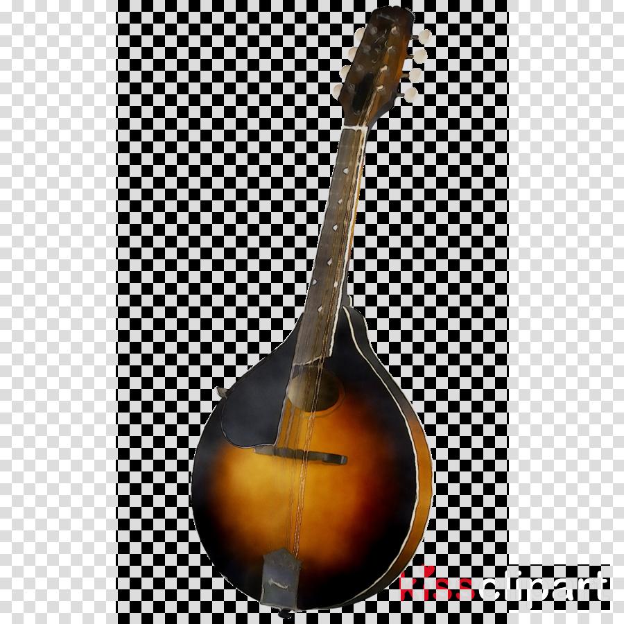 Violin cartoon guitar transparent. Banjo clipart mandolin