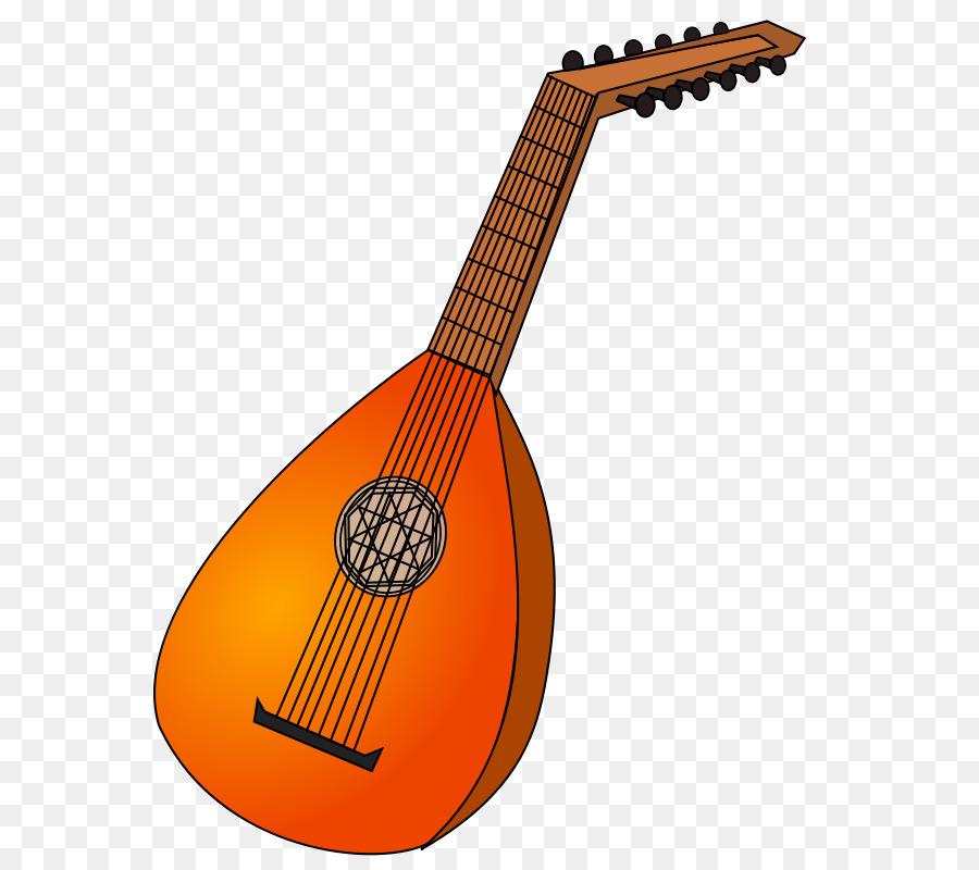 Lute musical instruments clip. Banjo clipart mandolin
