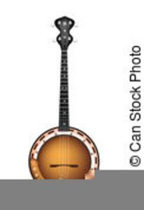 Banjo clipart mandolin. Guitar fiddle free images