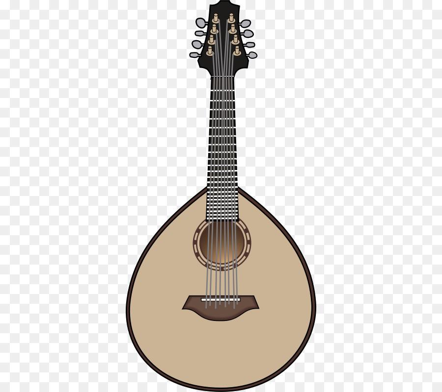 Banjo clipart mandolin. Lute musical instruments string