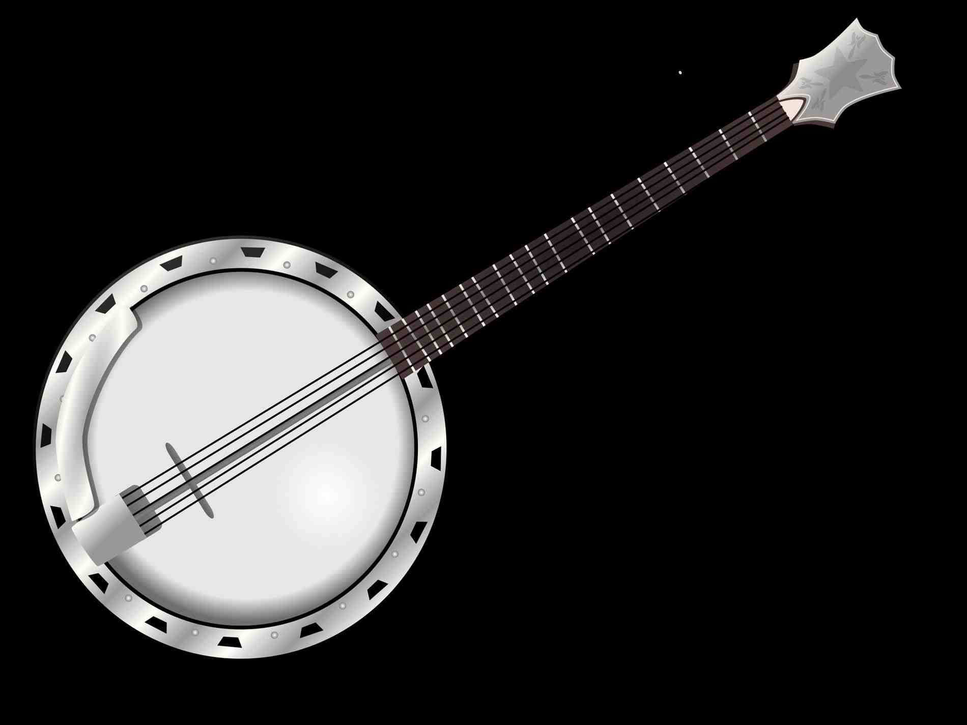 Banjo clipart musical instrument. Bigstock free of a