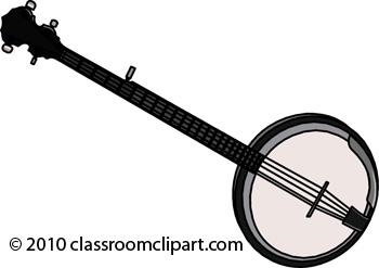 Banjo clipart musical instrument. Instruments classroom banjojpg
