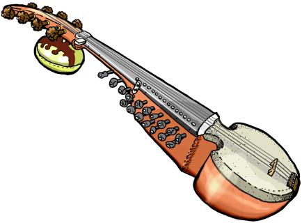 Banjo saraswati veena