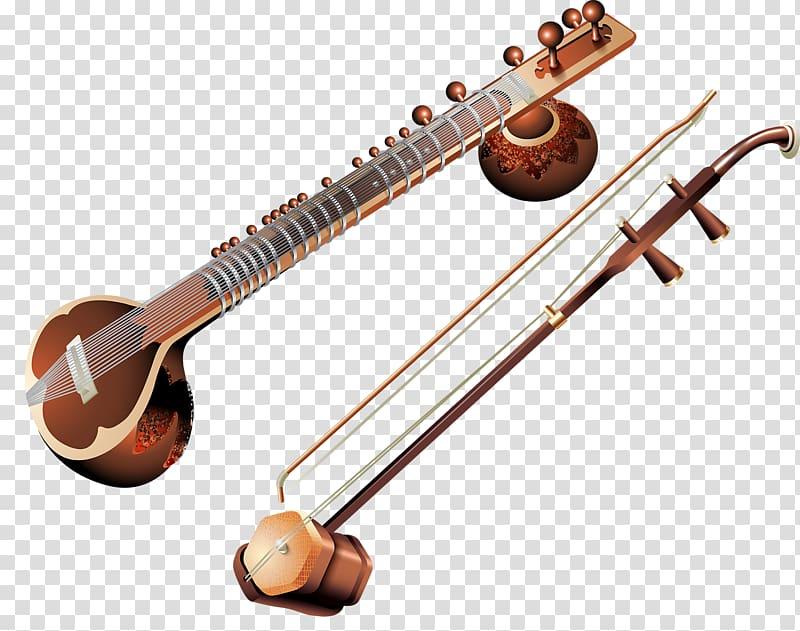 Rudra musical instruments tanbur. Banjo clipart saraswati veena