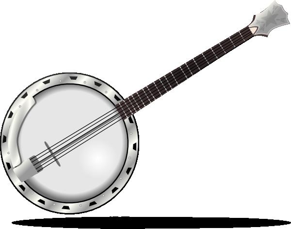 Banjo clipart silhouette. Clip art at clker