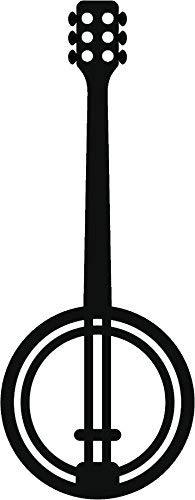 Banjo clipart silhouette. Amazon com ew designs