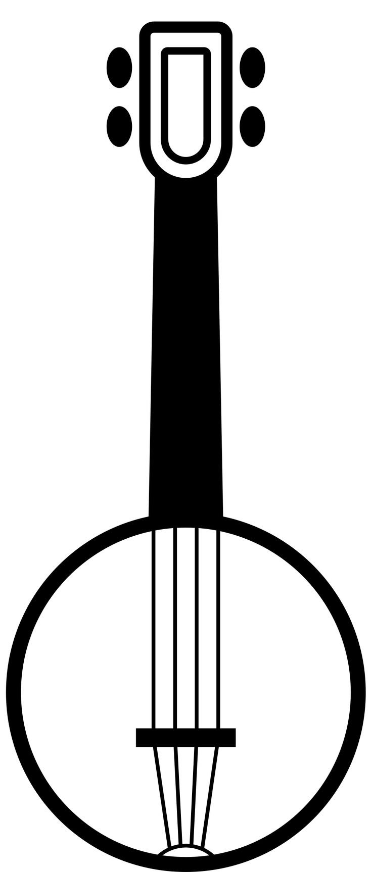 Banjo clipart simple.  best images on