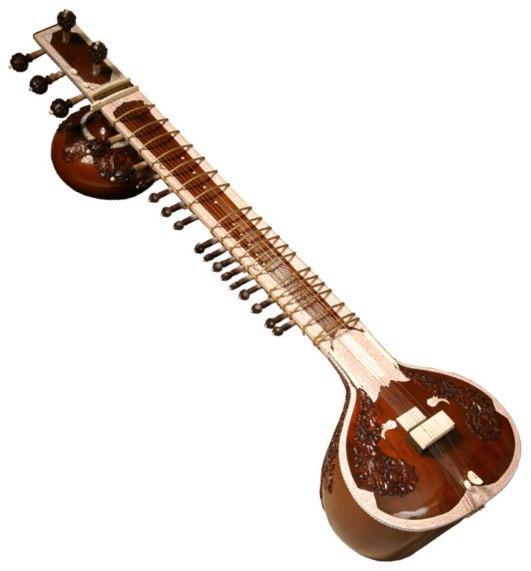 Banjo clipart sitar instrument. Differences between veena and
