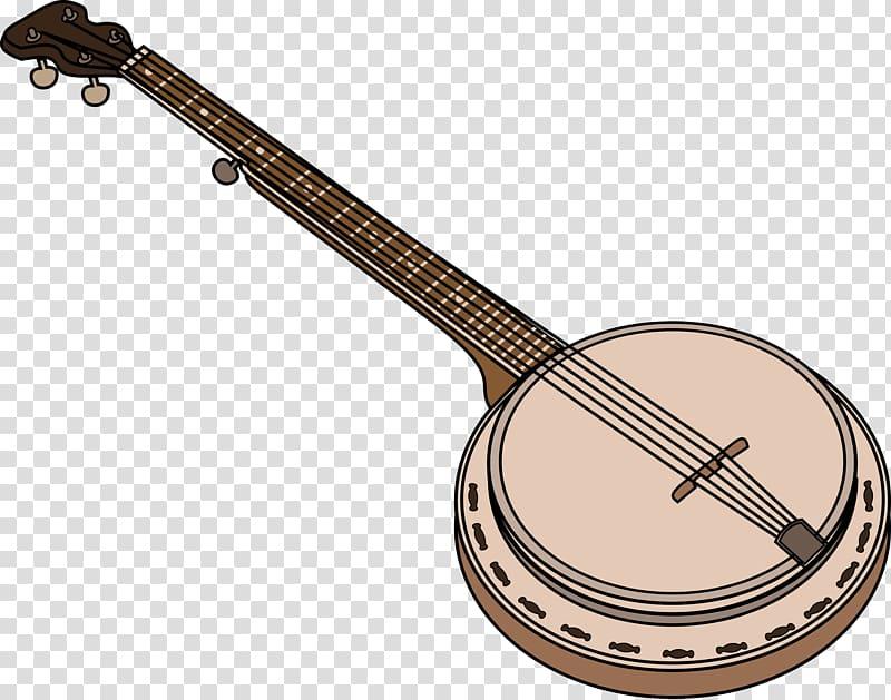Musical instruments transparent background. Banjo clipart sitar instrument