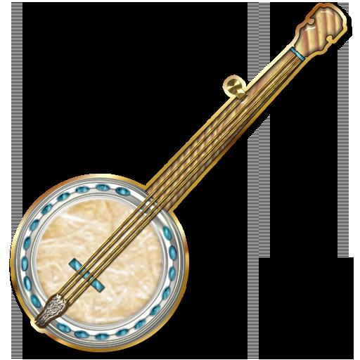 Bluegrass clip art cliparts. Banjo clipart transparent