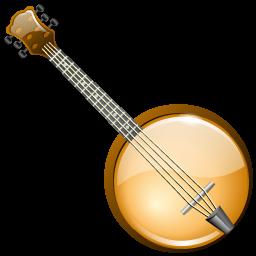 Banjo clipart transparent. Icons iconshock