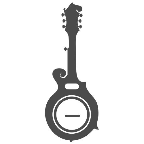 Bub baritone scale gold. Banjo clipart ukulele