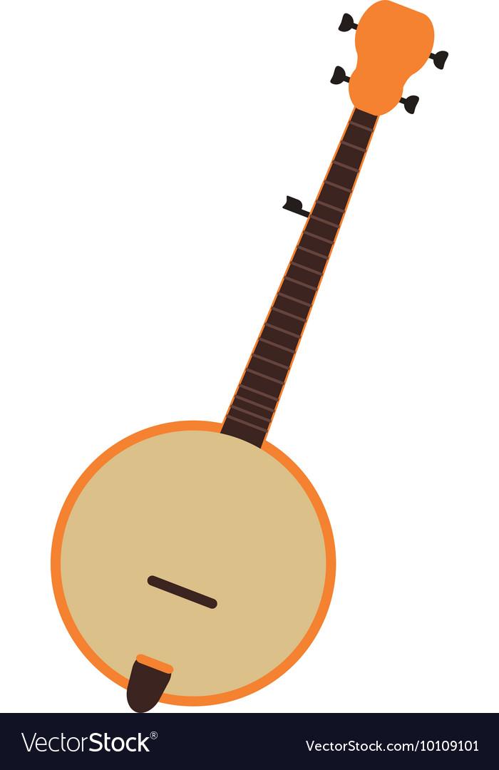 Free icon download polygon. Banjo clipart vector