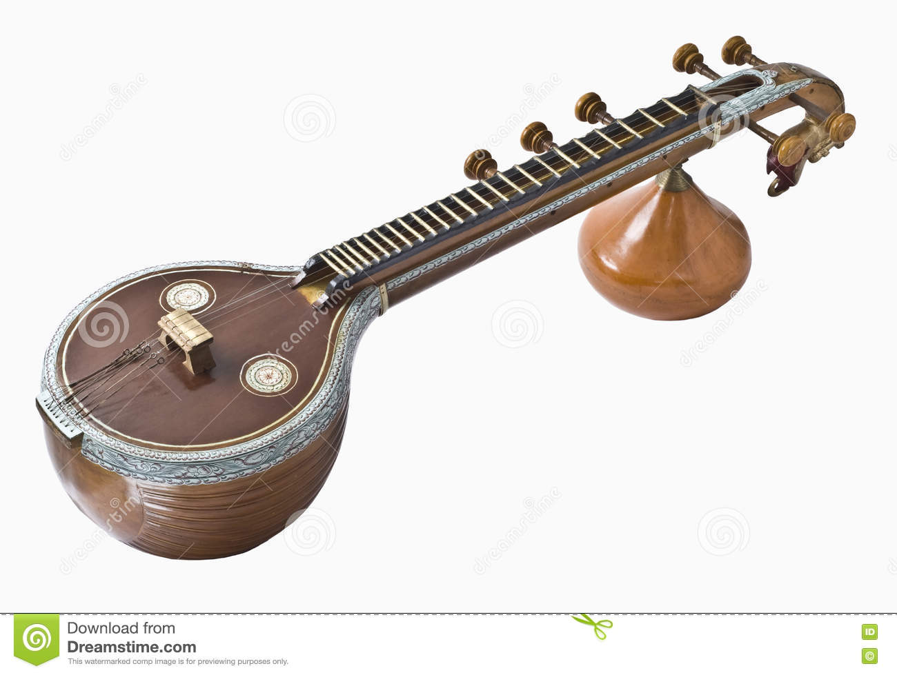 collection of instrument. Banjo clipart veena
