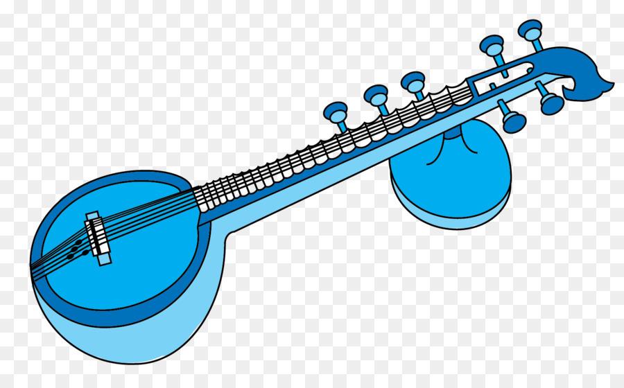 Banjo clipart veena. Musical instruments music of