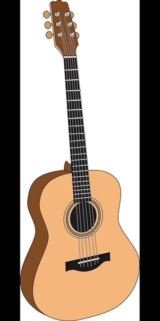 Banjo clipart western guitar. Free image on pixabay
