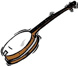 Free. Banjo clipart