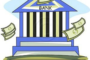 B download station page. Bank clipart