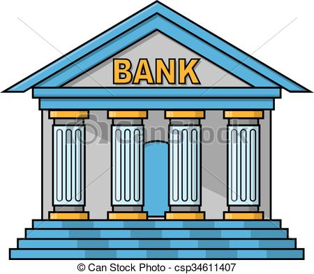 Bank clipart. Station