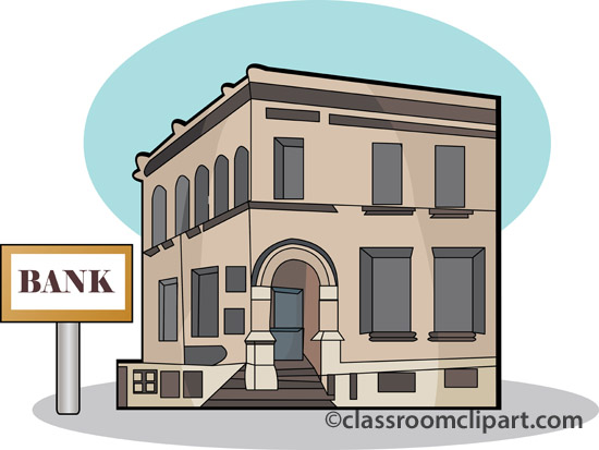 Bank clipart animated. Building