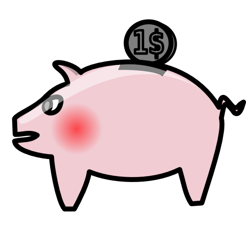 Bank clipart animated. Free piggy banks images