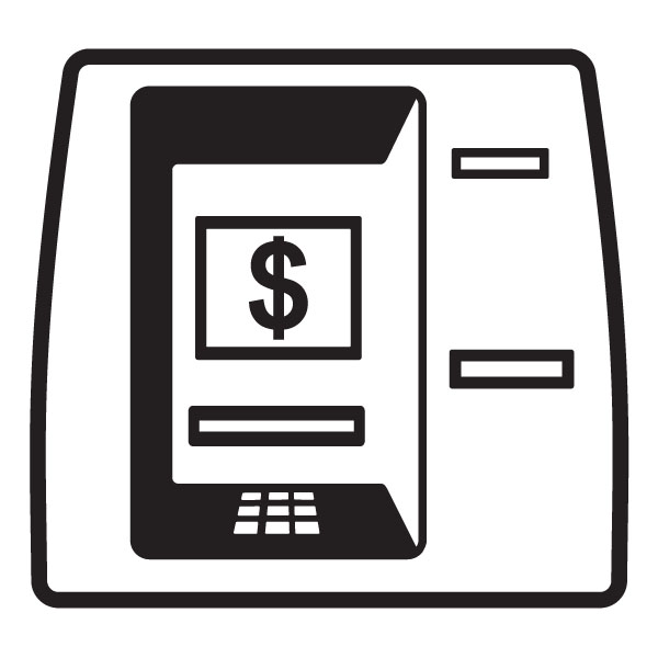Image of banking machine. Bank clipart atm clipart