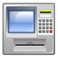 Money machine teaching ideas. Bank clipart atm clipart