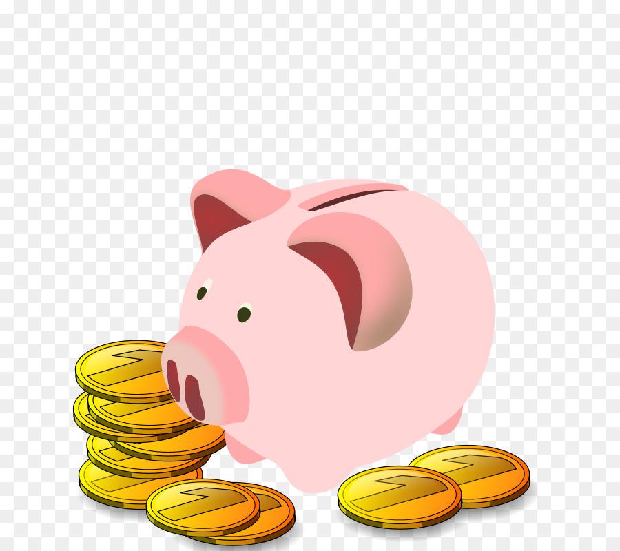 Piggy clip art png. Bank clipart bank money