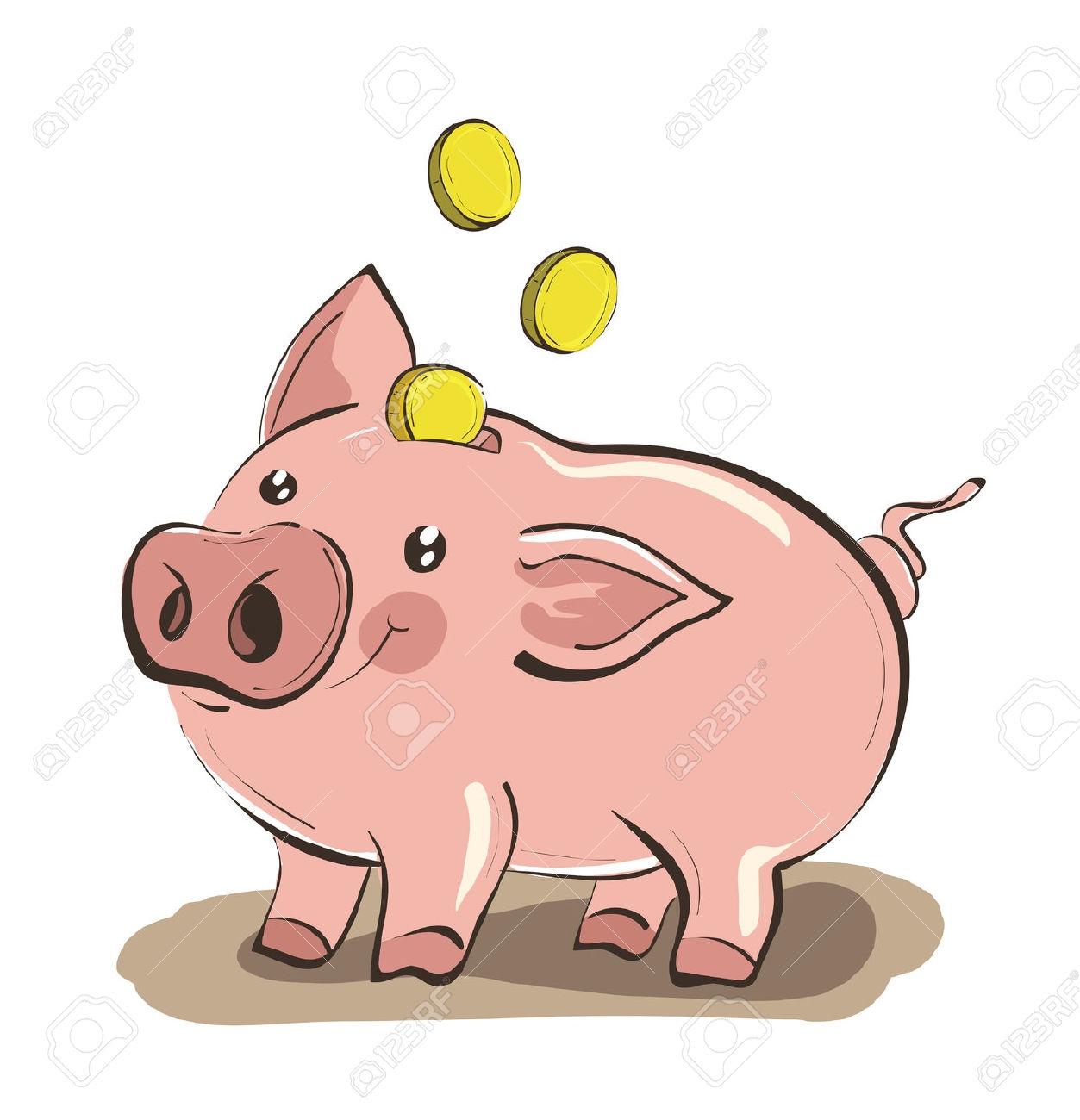 collection of piggy. Bank clipart bank money