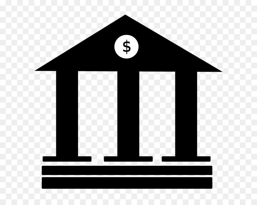 Money square transparent clip. Bank clipart bank sign