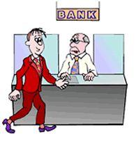 Station . Bank clipart bank teller