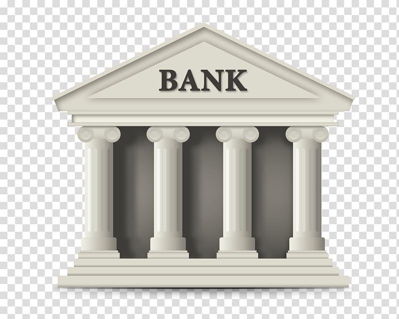 Bank clipart banking. White illustration online finance