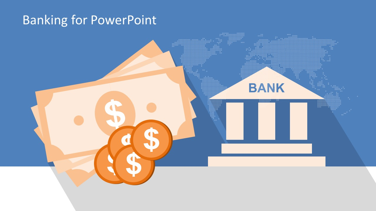 Bank clipart banking industry. Free powerpoint template