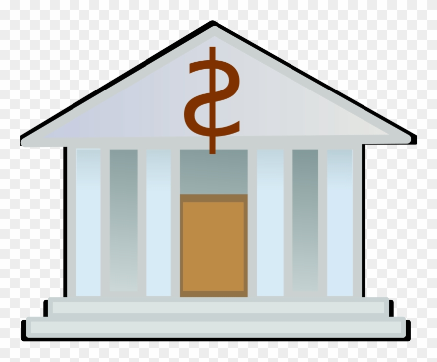 Finance budget png transparent. Bank clipart cartoon