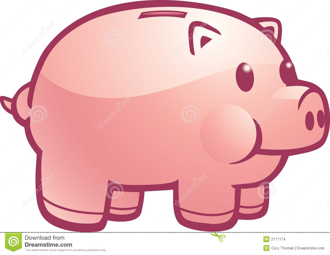 Awesome piggy collection digital. Bank clipart cute