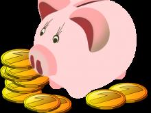 Piggy free panda images. Bank clipart cute