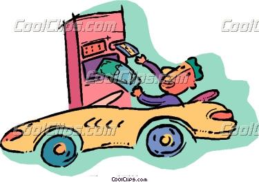 Bank clipart drive thru. Person at through vector
