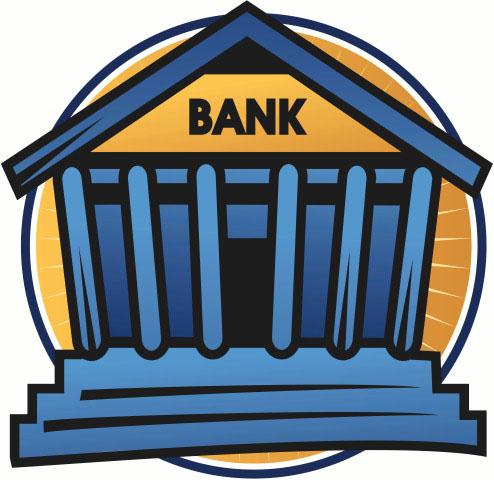 Understanding garnishments under indiana. Bank clipart financial institution