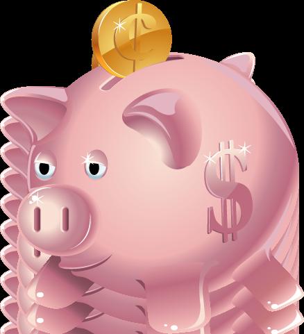Bank clipart kid. Piggy clipartix