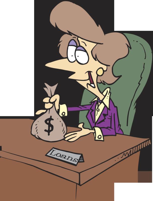 Employee clipart executive. Are banks still lending