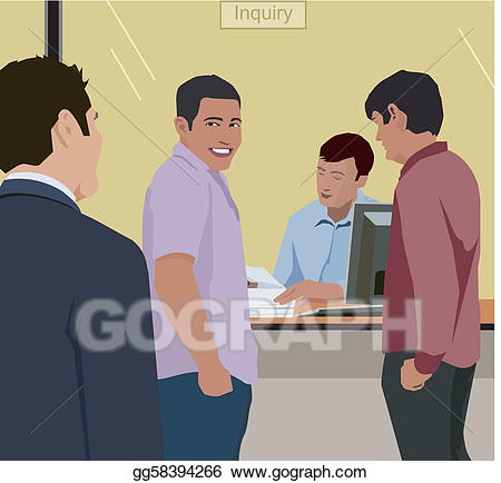 Drawing people standing at. Bank clipart male