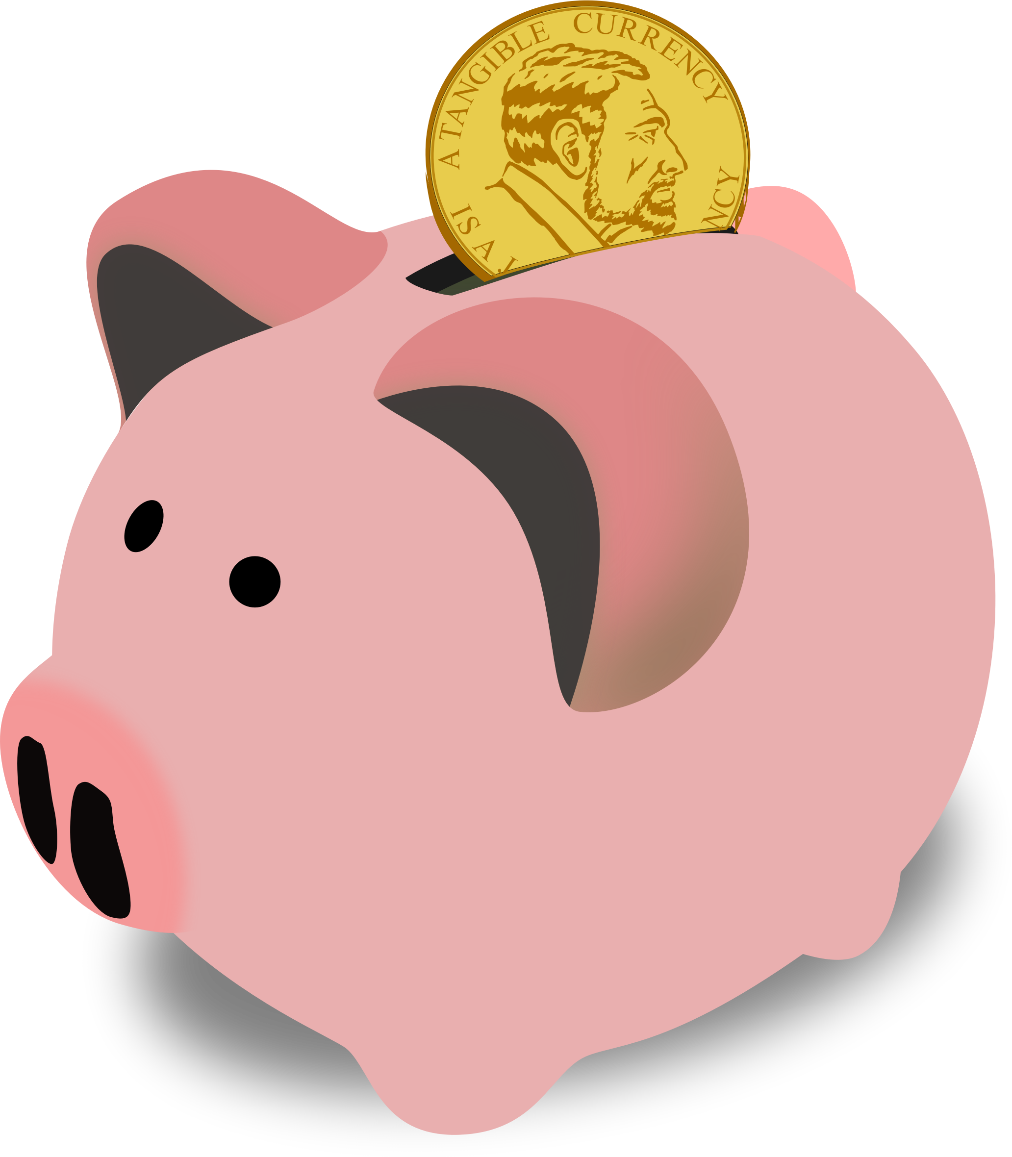 Finance clipart savings. Piggy bank big image